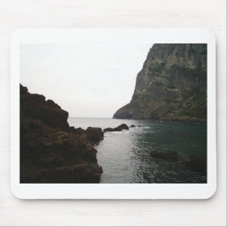In between the cliffs mouse pad