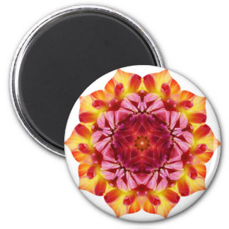In Bloom 2 Inch Round Magnet