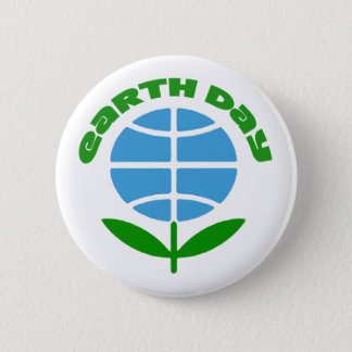In Bloom Earth Day Button