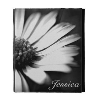 In Bloom l B W Foral Photography iPad Cases