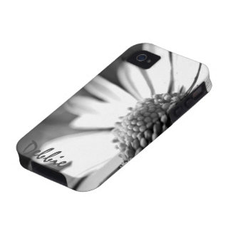 In Bloom l B&W Foral Photography iPhone 4 Cover