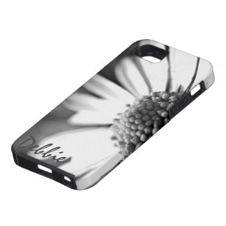 In Bloom l B&W Foral Photography iPhone SE/5/5s Case
