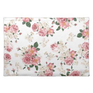 In bloom Springtime floral print Place Mat
