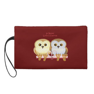In Books Love Is Eternal Wristlet Clutches