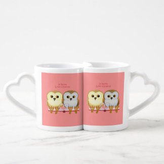 In Books Love Is Eternal Couples Coffee Mug