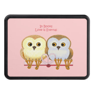 In Books Love Is Eternal Trailer Hitch Cover