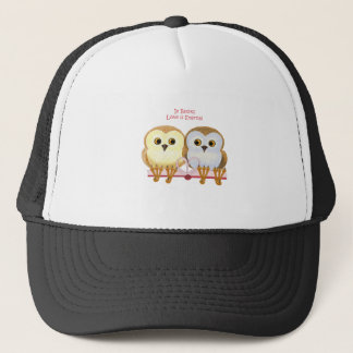 In Books Love Is Eternal Trucker Hat