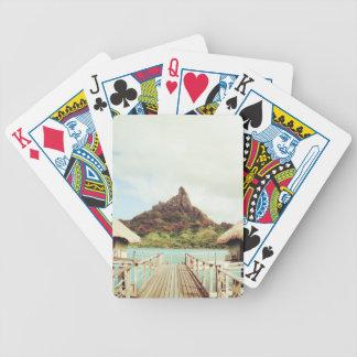 In Bora Bora Bicycle Playing Cards