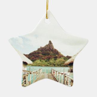 In Bora Bora Ceramic Ornament