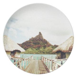 In Bora Bora Plates