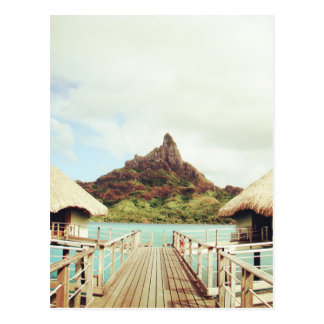 In Bora Bora Postcard