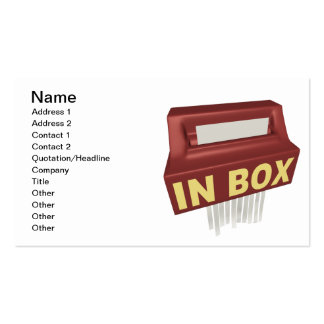 In Box Business Card