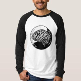 In brain we trust tee shirt