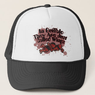 In Buffalo They are just called wings Trucker Hat