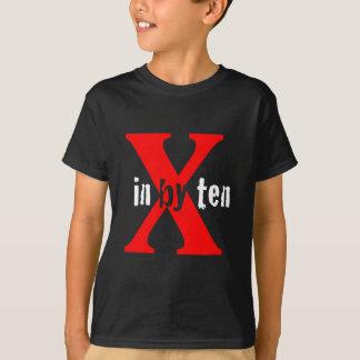 In By Ten Logo Black T-Shirt