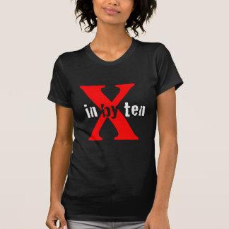 In By Ten Logo Black T Shirt