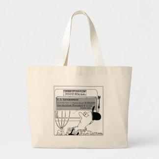 In Case of Cash-Flow Emergency Tote Bags