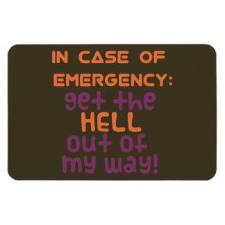 In Case of Emergency... Magnet