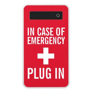 In Case of Emergency Plug In Power Bank