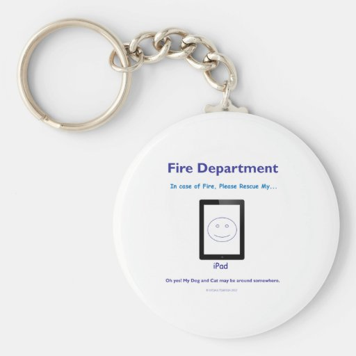 in case of emergency save ipad keychains
