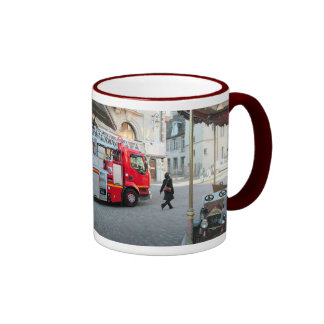 In case of fire Call 999 (UK) 911  (USA) 1 Mugs