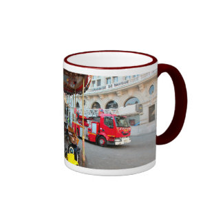 In case of fire Call 999 (UK) 911  (USA) Coffee Mugs