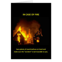 in-case-of-fire-have-plenty-of-marshmallows greeting card