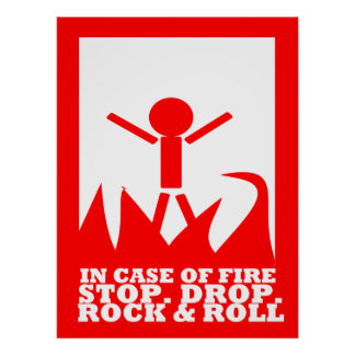 In Case of Fire Print