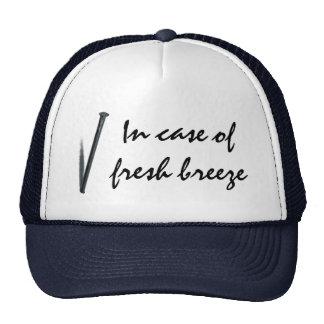 In Case Of Fresh Breeze Trucker Hat
