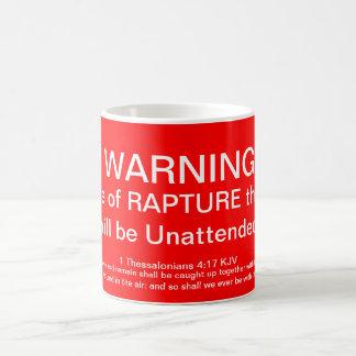 In case of RAPTURE. Mug