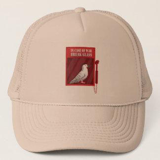 In case of war break glass trucker hat