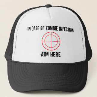 In Case of ZOMBIE Infection hat