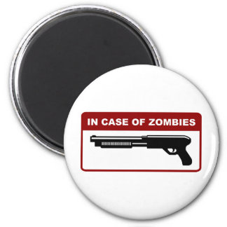 In Case Of Zombies Magnet