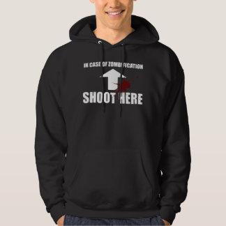 In Case Of Zombification... Hooded Sweatshirt