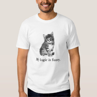 In case your cat is a logician (black) t-shirt