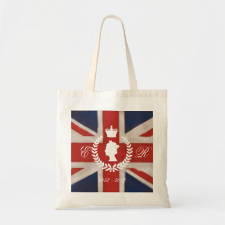 In Celebration of HM QE2 Diamond Jubilee inc dates Tote Bag