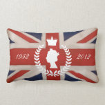 In Celebration of HM QE2 Diamond Jubilee Pillows
