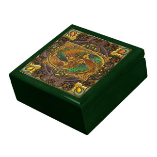 In Celtic Wood, by Joseph Maas Jewelry Box
