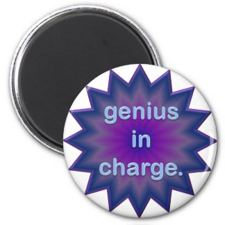 In Charge 2 Inch Round Magnet