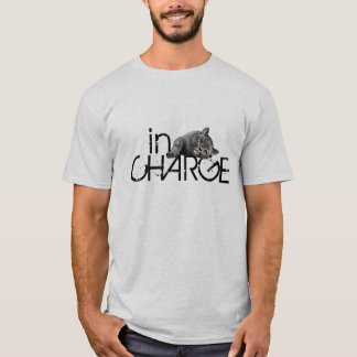 In Charge, Too Cute British Shorthair Cat T-Shirt