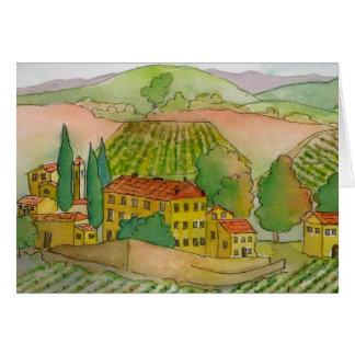 In Chianti, Dievole Winery Card