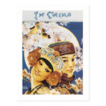 In China Vintage Songbook Cover Postcard