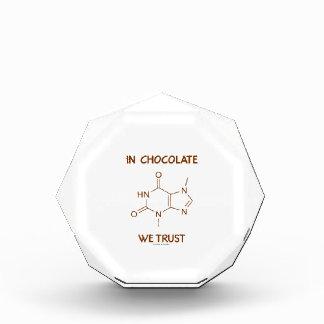In Chocolate We Trust (Theobromine Molecule) Award
