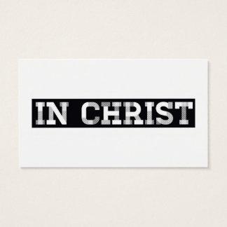 IN CHRIST..  God loves you - Name Card
