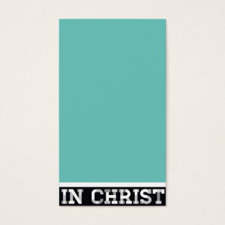IN CHRIST.. - Name Card