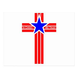 In Christ We Trust Postcard