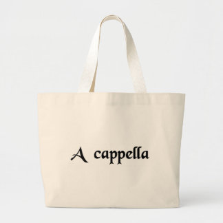 In church - Vocal music only Canvas Bags