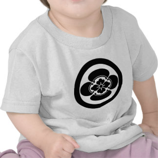 In circle Japanese quince Tshirts