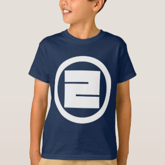 In circle one angular letter T-Shirt