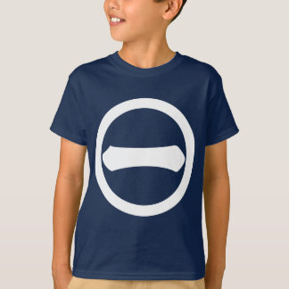 In circle one letter T-Shirt